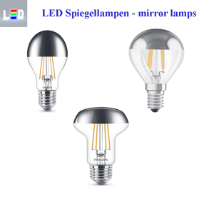 LED Spiegel-Lampen mirror lamps