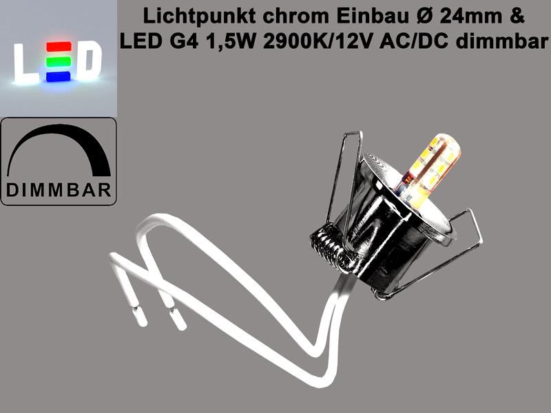 LED Lichtpunkt dimmbar