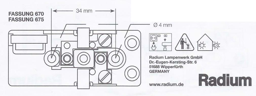 s14d fassung f r linestra linienlampen baugleich mit osram 670 farbe grau. Black Bedroom Furniture Sets. Home Design Ideas