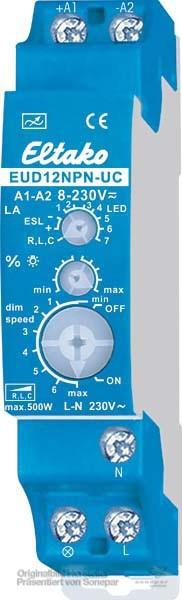 Eltako Stromstoß-Dimmschalter 8..230V UC - EUD12NPN-UC - 21100806