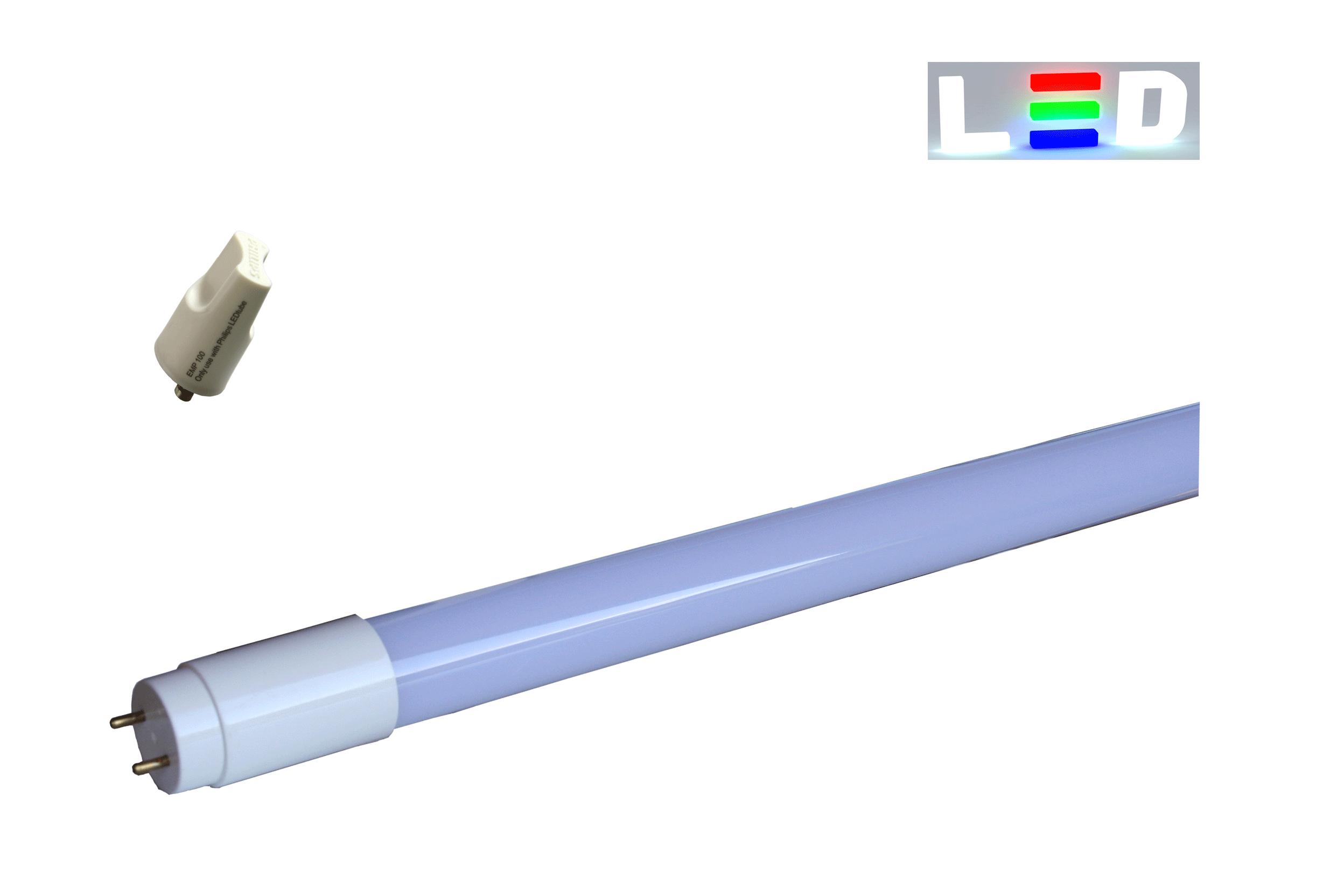 LED Leuchtstoffröhre 1200mm • 18W • 1600lm • 3000K • matt