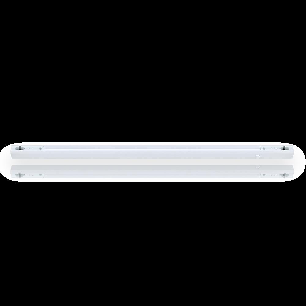 Fassung S14s Linenlampe [Linestra] 1000mm - Kunststoff - weiss mit Ein- Ausschalter
