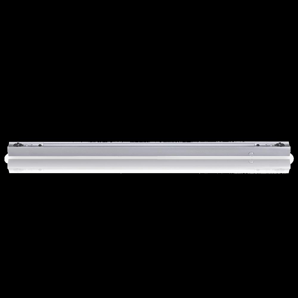 Fassung S14s Linenlampe [Linestra] 1000mm - Kunststoff - silber mit Ein- Ausschalter