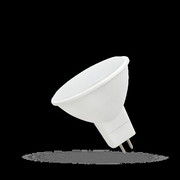 LED Strahler spectrum • GU5,3 (MR16) • 12V/AC • 6W (6,0W = 50W) • 3000K • warmweiss • 430lm • 120° • DxL50x54mm • nicht dimmbar