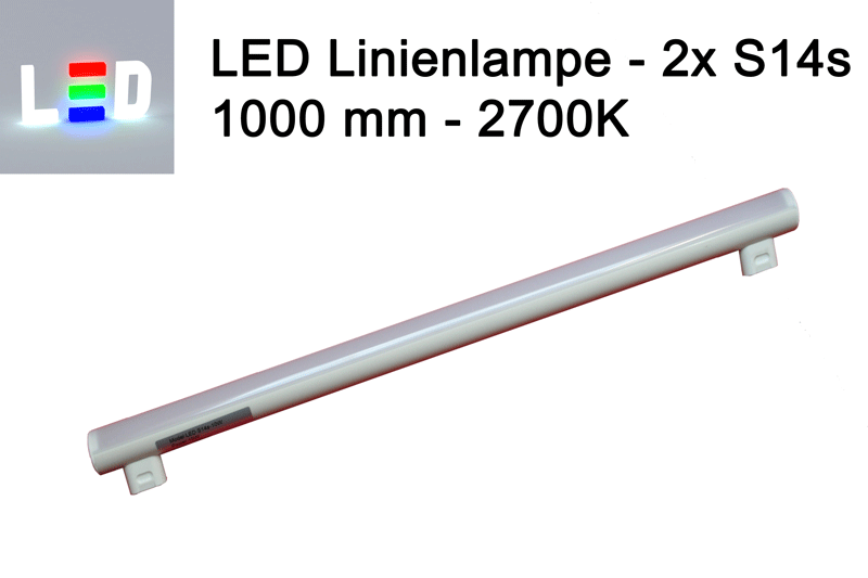 rzb led linienlampen linestra ersatz 100cm 1000mm 2700k ersatz f r 120w linienlampe von osram. Black Bedroom Furniture Sets. Home Design Ideas