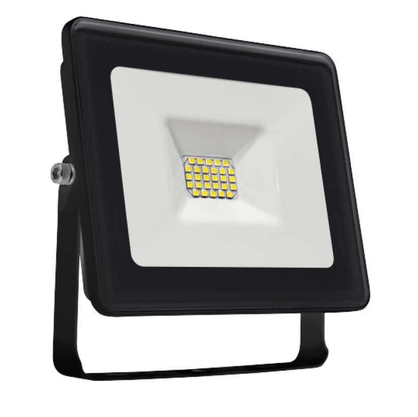 LED Fluter / Strahler / Flood light 10W - 3000K - 850lm - IP 65 - Gehäuse schwarz