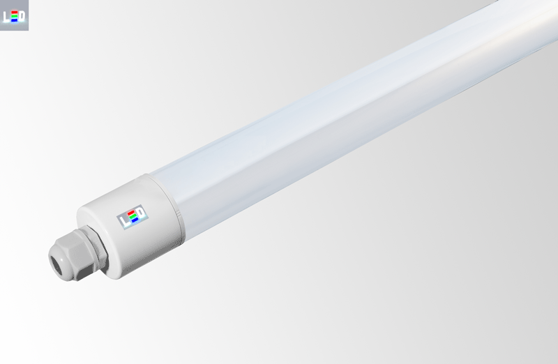LED Rohrleuchte IP65 • 12W • 622mm • 4000K/5000K/6500K - Ø 48,5mm • 220-240V AC/DC-50/60Hz