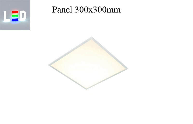 LED Panel 300x300mm - warmweiss - 13W - 3000K - 900lm