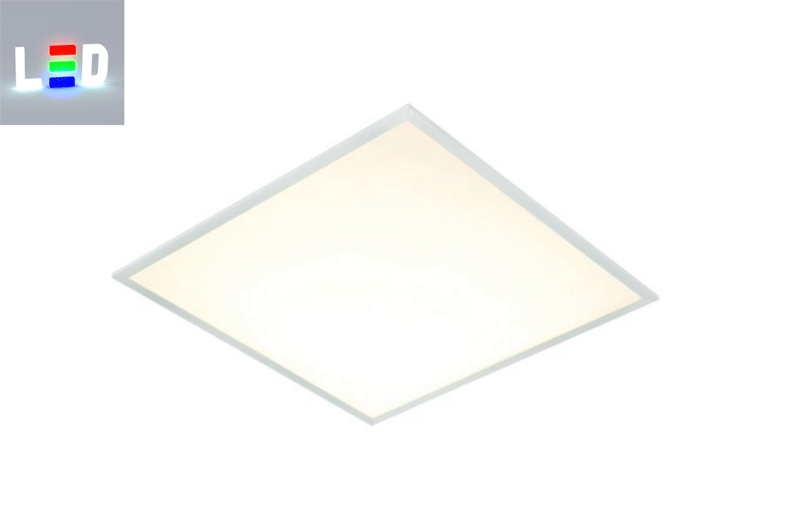 LED Panel 625x625x10,5mm - 3000K warmweiss für Kassettendecke, Odenwald Decke, Büro und Verwaltungen