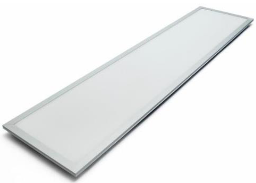 LED Panel 1200x600mm 3000 Kelvin warmweiss (Abb. ähnlich)