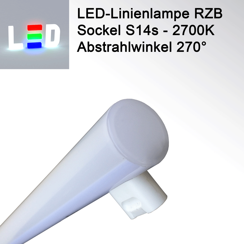RZB Linienlampe S14S - warmweiss - 300mm