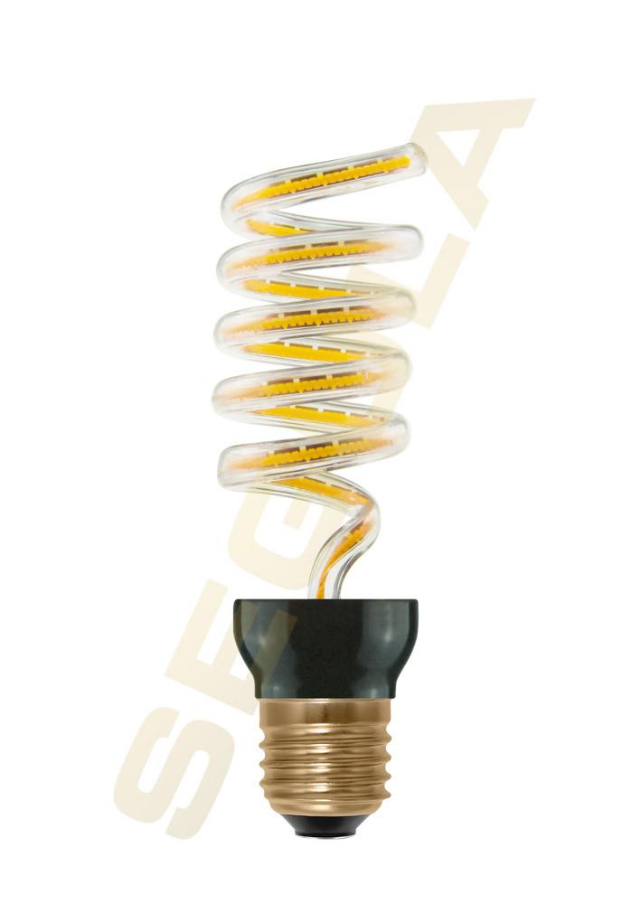 LED Filament Art-Line • E27 • 12W (42W) • 500lm • 2200K • D: 40mm L:145mm • Segula 50156