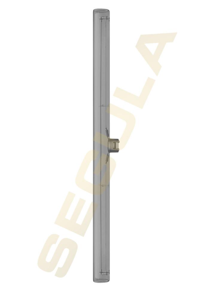 Segula LED super warm weiss S14d 500mm 50cm Glas klar rauchgrau 2000 Kelvin 12W(24W) 240 Lumen