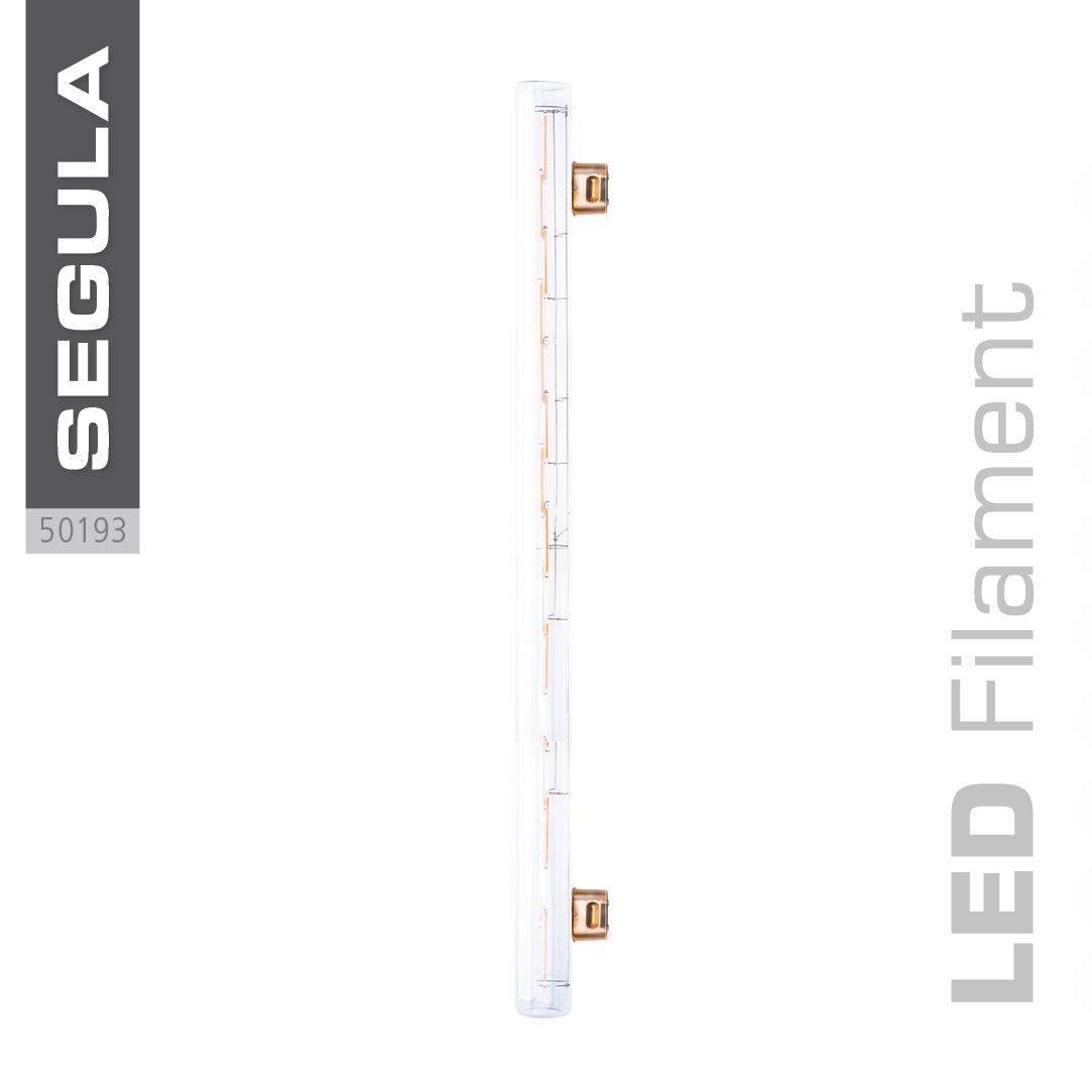 LED super warm weiss S14s 500mm 50cm Glas klar klarglas 2200 Kelvin 12W