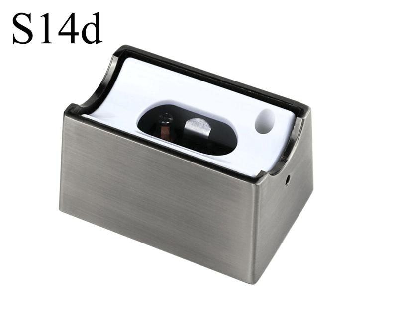 Fassung/Sockel für Linienlampen wie Linestra S14d - Chrom matt