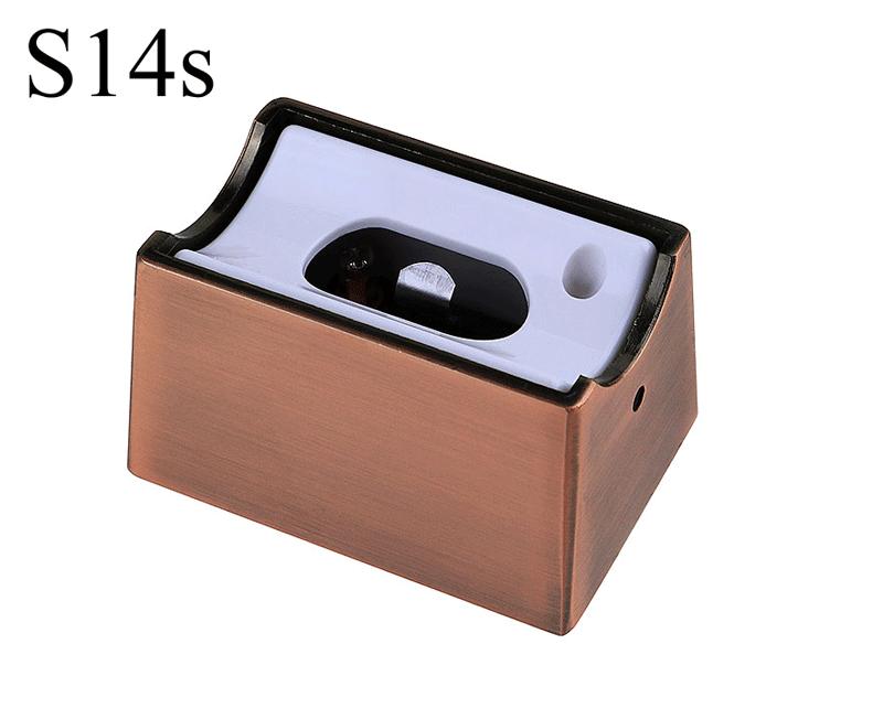 Fassung/Sockel für Linienlampen wie Linestra S14s - Bronze/Kupfer
