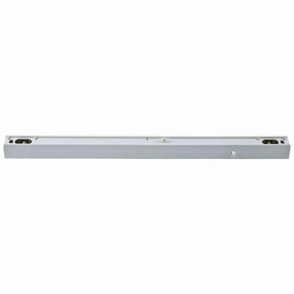 Fassung/Lichtleiste für Linienlampen mit S14s Sockel - 50cm Länge - Farbe weiss