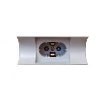 Fassung Linestra - Linienlampe S14d - Radium 670 (Baugleich Osram 670)