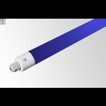 LED Rohrleuchte IP65 • 30W • blau • 1500mm • Ø 48,5mm • 220-240V AC/DC-50/60Hz