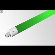 LED Rohrleuchte IP65 • 30W • grün • 1500mm • Ø 48,5mm • 220-240V AC/DC-50/60Hz