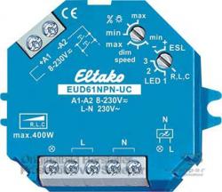 Eltako  Stromstoß-Dimmschalter EUD61NPN-UC - 61100801