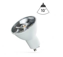 LED Strahler GU10 6W 230V/AC 50Hz (6,0W = 45W) 6500K kaltweiss • 460lm • 10° Grad Abstrahlwinkel