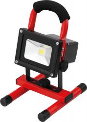 LED Baustellen Strahler mit Akku mit Lithium Ionen Akku