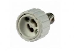 Lampenfassung Adapter E14 auf GU10
