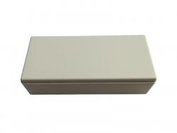 Gehäuse für LED-Trafo AP grau-weiss - 119x55x33mm