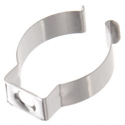 Halteklammer Stahl verz. für LED-Röhren T8 - Durchmesser 26mm - 28mm