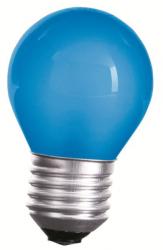 LED Lampe • E27 • 230V/AC • 1,0W (1W=10W) • 20lm • blau • 270° • 45x70mm •