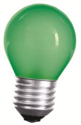 LED Lampe • E27 • 230V/AC • 1,0W (1W=10W) • 20lm • grün • 270° • 45x70mm •