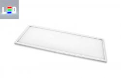 LED Panel -  Rahmen weiss 40W -4000K - 4000 Lumen - 1200x300mm für Büro und Verwaltung