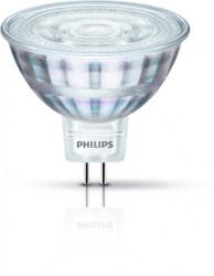 LED Strahler MR16 • Philips • GU5,3/ PAR16 • 12V/DC • 5,0W (5W = 35W)  • 4000K • neutralweiss • 390lm • Abstrahlwinkel 36° • nicht dimmbar