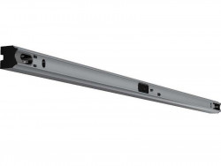 Fassung/Lichtleiste für Linienlampen mit S14s Sockel - 100cm Länge - Farbe alu eloxiert