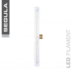 LED super warm weiss S14d 300mm 30cm Glas klar klarglas 2200 Kelvin 8W