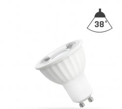 LED Strahler GU10 4W 230V/AC 50Hz (4,0W = 40W) 6000K kaltweiss • 410lm • 38° Grad Abstrahlwinkel