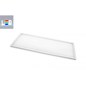 LED Panel 1200x300mm • Farbton 4000K • 100-230V/AC 50/Hz • 40W • 3000lm • dimmbar optional • incl. Trafo • Randleistenfarbe weiss
