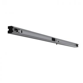 Lichtleiste RZB für Linienlampen • mit Druckschalter • Sockel S14s • 0-250V • L=1000mm • Aluminium eloxiert