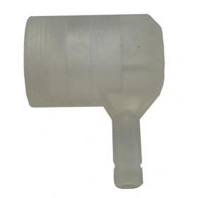 Schutzkappe IP54 für LED-Röhren T8 für Sockel G13 für alle Längen (!ohne Fassung G13!)