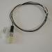 10 Stück (VE) Plastik Sockel/Fassung G4 / GU4 / GU5.3 (MR11, MR16) / G6.35 / GY6.35 - mit 60cm Kabel - für Niedervolt und Hochstrom LED 12V-250V AC/DC Max. 2A, 24Watt_View5