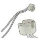 Keramik Fassung G4 / GU4 / GU5.3 (MR11, MR16) / G6.35 / GY6.35 - mit 14cm Kabel 0,75mm² - für Niedervolt und Hochstrom LED 12V-250V AC/DC_view2