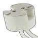 Keramik Fassung G4 / GU4 / GU5.3 (MR11, MR16) / G6.35 / GY6.35 - mit 14cm Kabel 0,75mm² - für Niedervolt und Hochstrom LED 12V-250V AC/DC_view3