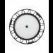 LED Highbay Strahler LEDVANCE 100-240V/AC • 200W (Ersatz für 400W HQI) • 4000K • 27000lm • 110° • IP65 • livetime 50000hr • -30…50 °C • nicht dimmbar - Ansicht 2