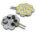 LED G4 Mini Scheiben-Form 12V dimmbar AC/DC ⌀ 30mm/L41mm/T8mm 3,1W (3,1W = 25W) 3000K 280lm 120°_View2