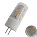 LED G4 12V AC/DC ⌀ 18mm/L49mm 5W (5W = 40W)  2800K  510lm  360° Kunststoff, Keramik_View2