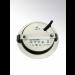LED Einbauleuchte Gehäuse matt chrom • 12V/DC • 3W • 200lm • 3200K • 40° • AØ 65mm • EinbauØ 54-58mm • Einbautiefe 15mm • Aufbauhöhe 1,2mm • dimmbar - Ansicht hinten