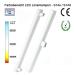LED Linienlampen (LINESTRA-Ersatz) 300mm - Farbenübersicht