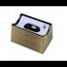 Fassung/Sockel für Linienlampen wie Linestra S14d - Messing gebuerstet matt - view2