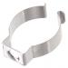 Halteklammer Stahl glanzverzinkt für LED-Röhren T8 - Durchmesser 26mm - 28mm